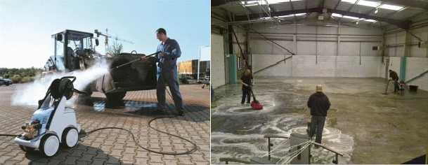 Cleanserv industrial cleaning speciilists